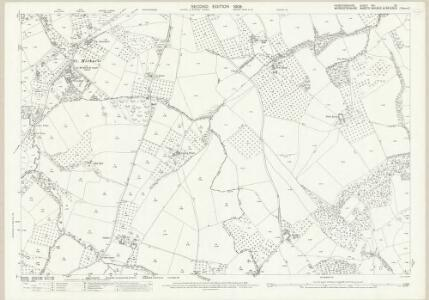 Herefordshire VIII.15 (includes: Bockleton; Laysters; Middleton On The Hill; Tenbury) - 25 Inch Map