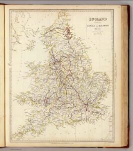 England canals, railways.