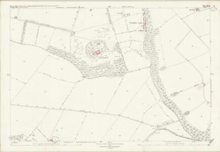 Worcestershire LVII.11 (includes: Blockley; Bourton on the Hill; Broadway; Chipping Campden; Snowshill) - 25 Inch Map