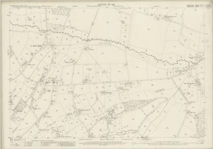 Berkshire XLII.11 (includes: East Woodhay; Enborne; Hampstead Marshall) - 25 Inch Map
