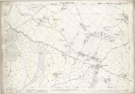 Derbyshire XII.6 (includes: Beighton; Eckington; Sheffield) - 25 Inch Map