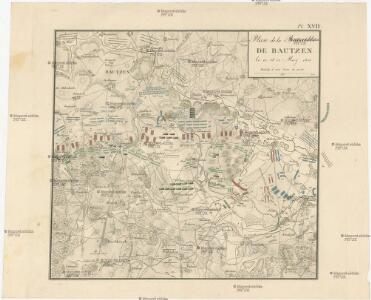 Plan de la Bataille de Bautzen le 20 et 21 May 1813