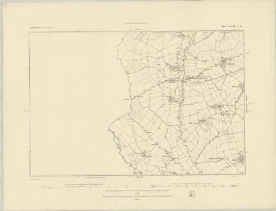 Derbyshire XXXIX.SE - OS Six-Inch Map