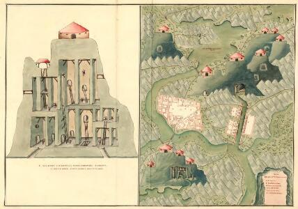 Plan des Bergwergs Serniz