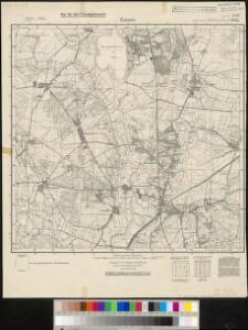 Meßtischblatt 2043, neue Nr. 3746 : Zossen, 1937