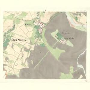 Sklenau (Sklenowa) - m2737-1-005 - Kaiserpflichtexemplar der Landkarten des stabilen Katasters