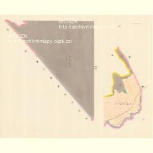 Lesnitz - m1497-1-003 - Kaiserpflichtexemplar der Landkarten des stabilen Katasters