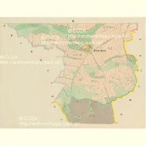 Maniowitz - c4473-1-002 - Kaiserpflichtexemplar der Landkarten des stabilen Katasters