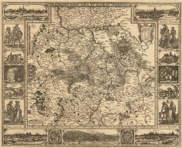 Palatinatus Rheni Nova, Et Accurata Descriptio