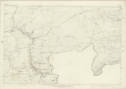 Denbighshire XXV - OS Six-Inch Map