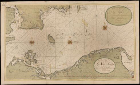 Een gedeelte van de Oost Zee streckende van de Sondt tot aen Dantzigk