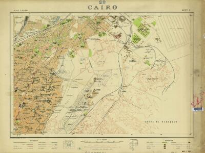 Cairo, 1:10.000 (Sheet 7)