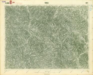 III. vojenské mapování 4471