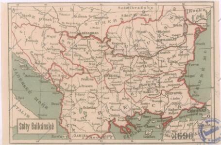 Státy Balkánské