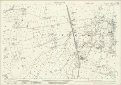 Sussex XXXVIII.13 (includes: Henfield) - 25 Inch Map