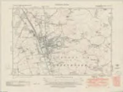 Hertfordshire XII.SE - OS Six-Inch Map