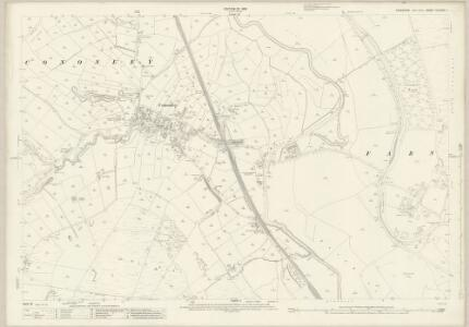 Yorkshire CLXXXV.1 (includes: Bradleys Both; Cononley; Farnhill; Glusburn) - 25 Inch Map