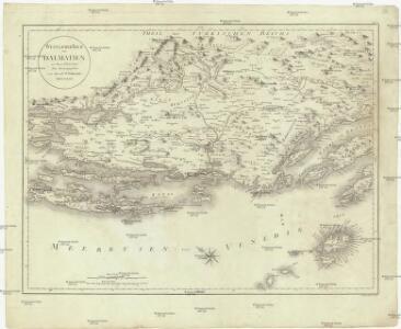 Oestlicher Theil von Dalmatien