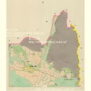 Malletsch (Maleč) - c4391-1-002 - Kaiserpflichtexemplar der Landkarten des stabilen Katasters