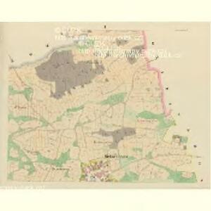 Metschichow (Meczichow) - c4542-1-002 - Kaiserpflichtexemplar der Landkarten des stabilen Katasters