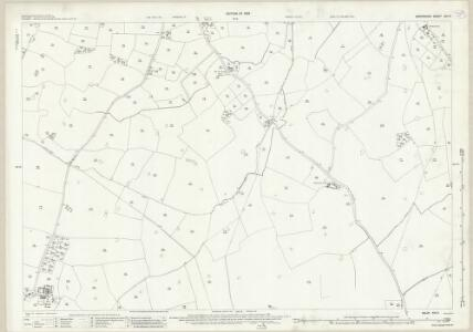 Shropshire XXI.9 (includes: Loppington; Myddle; Petton) - 25 Inch Map