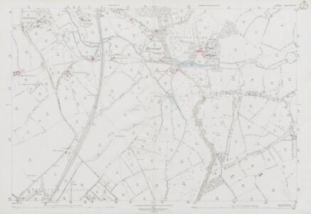 Wiltshire XLIV.4 (includes: Heywood; Westbury) - 25 Inch Map