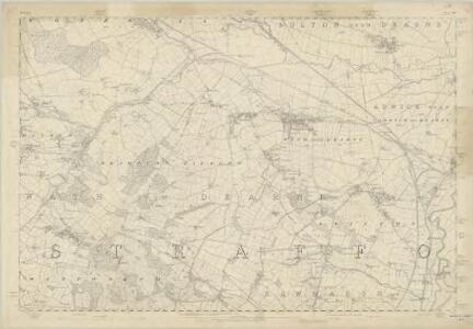 Yorkshire 283 - OS Six-Inch Map
