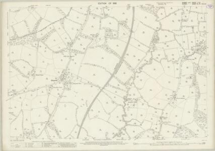 Sussex II.12 (includes: Horsham Rural; Rusper; Warnham) - 25 Inch Map