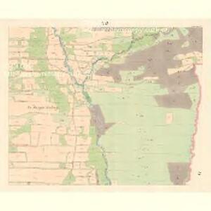 Zubrzy (Zubřzy) - m3614-1-011 - Kaiserpflichtexemplar der Landkarten des stabilen Katasters