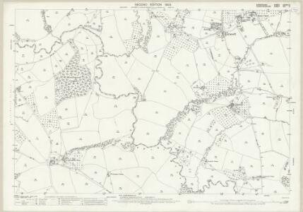 Shropshire LXXXIII.2 (includes: Burford; Greete; Little Hereford; Nash) - 25 Inch Map