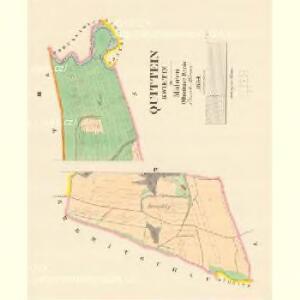 Quittein (Kwietin) - m1452-1-003 - Kaiserpflichtexemplar der Landkarten des stabilen Katasters