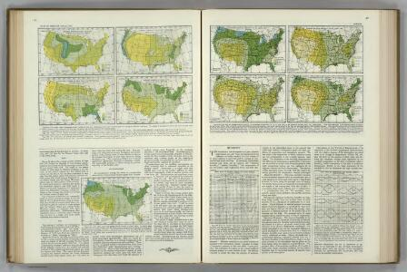 (Hail, Fog, Thunderstorms, Clear, Cloudy).  Relative Humidity.  Atlas of American Agriculture.