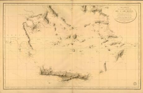 Carte réduite de la partie Méridionale de l'Archipel