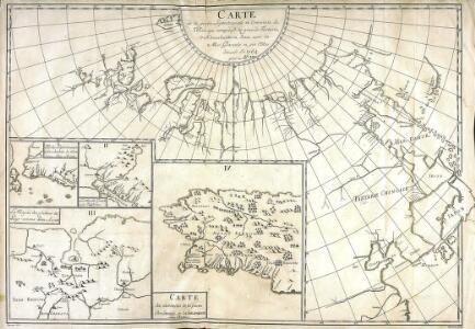 Carte de la partie septentrionale et orientale de l'Asie, qui comprend la grande Tartarie, le Kamschatka et Jesso avec la mer glaciale et ses côtes