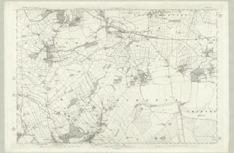 Wiltshire XXXVI - OS Six-Inch Map