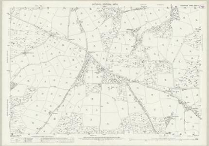 Devon XXXIII.12 (includes: Loxbeare; Rackenford; Stoodleigh; Templeton; Tiverton; Witheridge) - 25 Inch Map