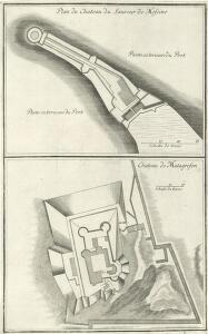 Plan du Chateau du Sauveur de Messine
