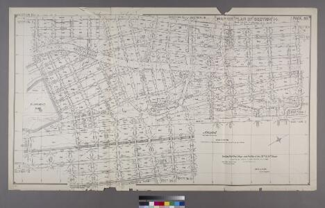 Map or Plan of Section 14. [Bounded by E. 173rd Street, Washington Avenue, Wendover Avenue, Clay I Avenue, Belmont Street, Jerome Avenue, E. 184th Street, Webster Avenue, E. 179th Street and Third Avenue.]