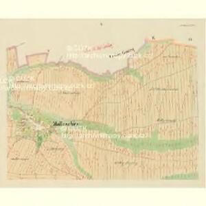 Malleschitz - c4411-1-005 - Kaiserpflichtexemplar der Landkarten des stabilen Katasters