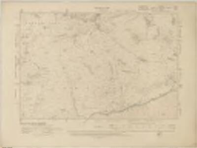 Lancashire I.NW - OS Six-Inch Map