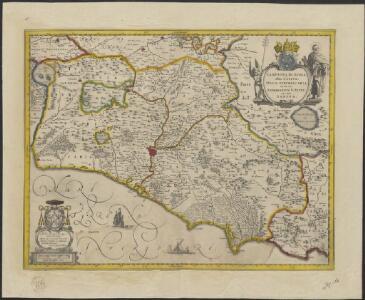 Campagna di Roma, olim Latium : Tuscia Suburbicaria, et in ea patrimonium S. Petri, nec non Sabina