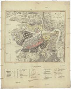 Plan der Haupt- und Residenzstadt Sct. Petersburg