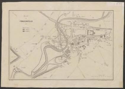 Plan von Frauenfeld