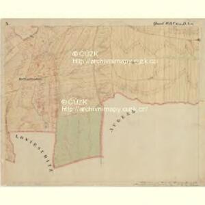 Prerau (Přerow) - m2453-1-019 - Kaiserpflichtexemplar der Landkarten des stabilen Katasters