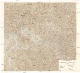 Carta delle provincie di Firenze e Pistoia