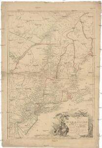Carte du théatre de la guerre entre les Anglais et les Américains