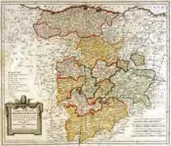 Charta geographica provinciam Burgos