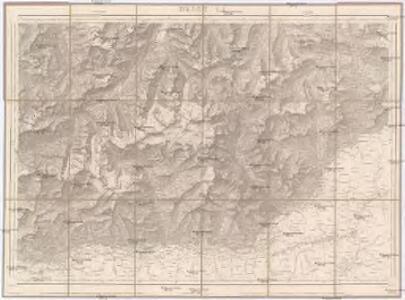 Topographische Karte der Schweiz
