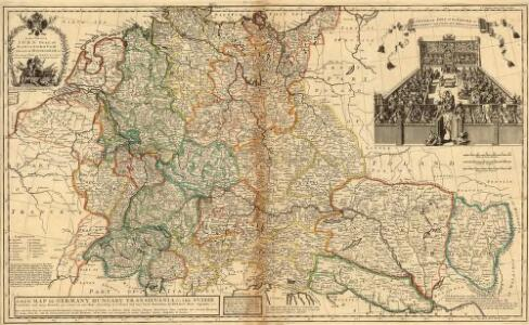 A New Map of Germany. Hungary Transilvania & the Suisse Cantons