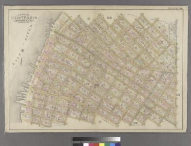 Plate 10: Bounded by N. Second Street, Kent Avenue, N. Third Street, Wythe Avenue, N. Fifth Street, Berry Street, N. Seventh Street, Bedford Avenue, N. Ninth Street, Driggs Street, N. 10th Street, Union Avenue, S. Second Street, Hooper Street, S. Third S
